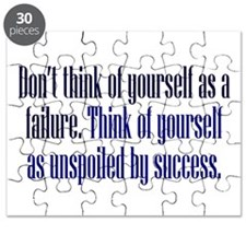Unspoiled By Success Puzzle
