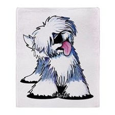 Curious OES Throw Blanket