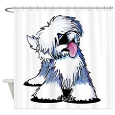 Curious OES Shower Curtain