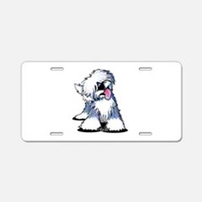Curious OES Aluminum License Plate