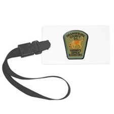 Orangeburg County Sheriff Bloodhounds Luggage Tag