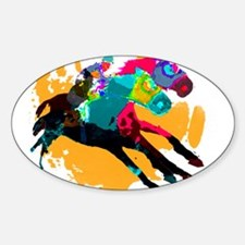 Horse Racing Decal