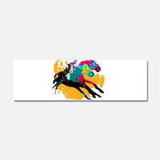 Horse Racing Car Magnet 10 x 3