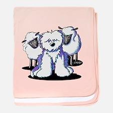OES Sheepies baby blanket