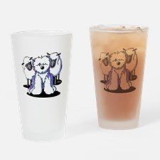 OES Sheepies Drinking Glass