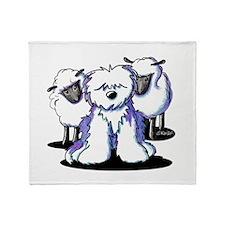OES Sheepies Throw Blanket