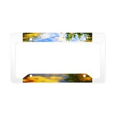 Fair weather License Plate Holder