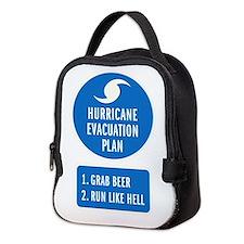 Hurricane Evacuation Plan.png Neoprene Lunch Bag