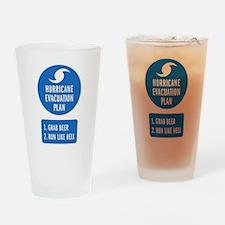 Hurricane Evacuation Plan.png Drinking Glass