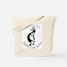 kokopelli t-shirt large.png Tote Bag