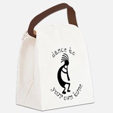 kokopelli t-shirt large.png Canvas Lunch Bag