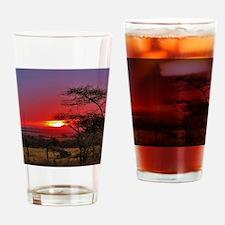 Tanzania 001 Drinking Glass