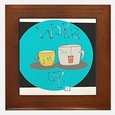 Good Morning! Framed Tile