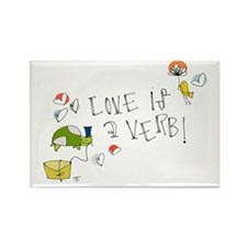 Love is a Verb Magnets
