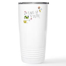 Love is a Verb Travel Mug