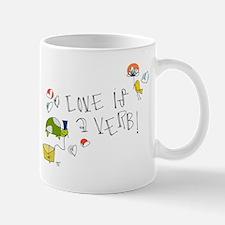 Love is a Verb Mugs