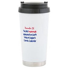 Cute December birthday Travel Mug