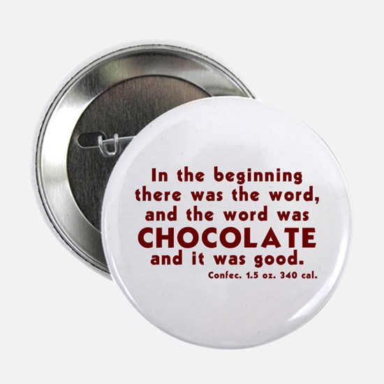 Chocolate Word Button