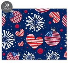 4th of July Pattern Puzzle