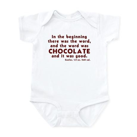 Chocolate Word Infant Bodysuit