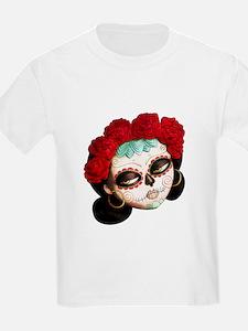 El Dia de Los Muertos Girl T-Shirt