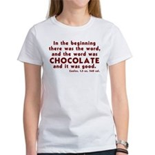 Chocolate Word Tee