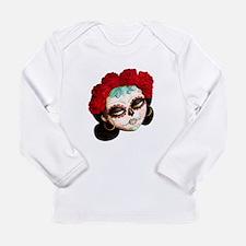 El Dia de Los Muertos Girl Long Sleeve T-Shirt