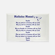 Meditation Moment In Harmony With You Lord Magnets