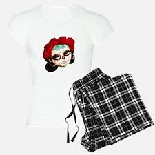 El Dia de Los Muertos Girl Pajamas