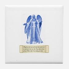Pay It Forward Angel Tile Coaster