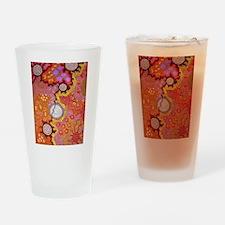 AUSTRALIAN ABORIGINAL ART 2 Drinking Glass
