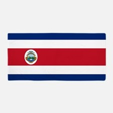 Flag of Costa Rica Beach Towel