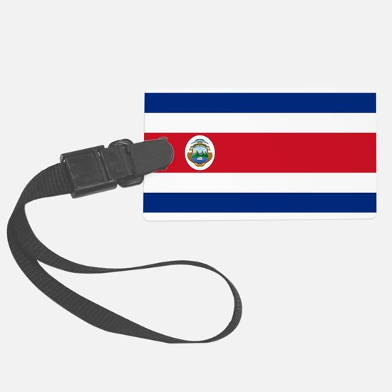 Flag of Costa Rica Luggage Tag