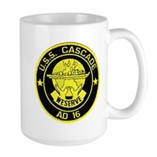 uss cascade patch Mugs