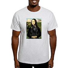 Mona & her Black Poodle T-Shirt