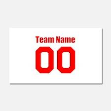 Team Car Magnet 20 x 12
