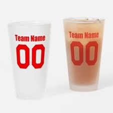 Team Drinking Glass