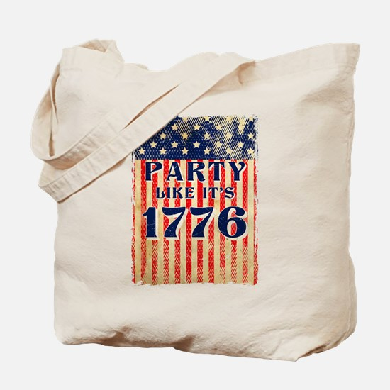 Party Like It's 1776 Tote Bag