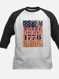 Party Like It's 1776 Kids Baseball Jersey