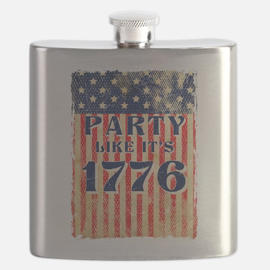 Party Like It's 1776 Flask