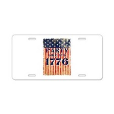 Party Like It's 1776 Aluminum License Plate