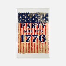 Party Like It's 1776 Rectangle Magnet