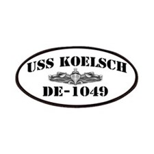 USS KOELSCH Patches