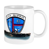Uss midway Coffee Mugs
