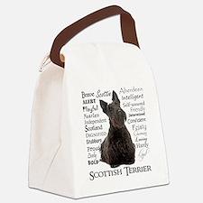 Scottie Traits Canvas Lunch Bag