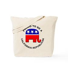 Proud California Republican Tote Bag