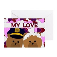 Happy Anniversary - To Husband Greeting Cards