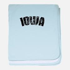 Iowa-01 baby blanket