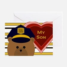 Son - Hero Of Your Heart - Police Valentine Card