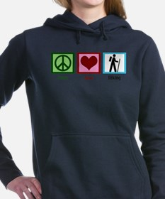 Peace Love Hiking Women's Hooded Sweatshirt